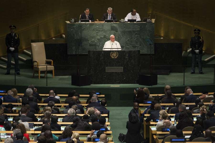 ONU, 25 septembre 2015 © L'Osservatore Romano