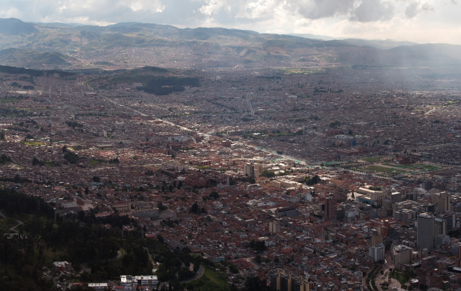 Bogota, Colombie © Wikimedia commons / Dori