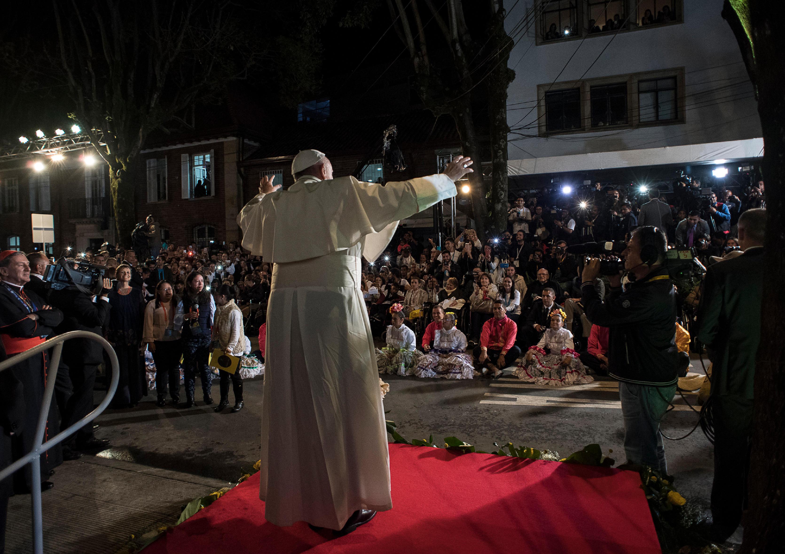 Fête à la nonciature, Bogota Colombie 07/09/2017 © L'Osservatore Romano