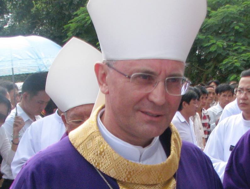 Mgr Leopoldo Girelli © Wikimedia commons / Hoangvantoanajc