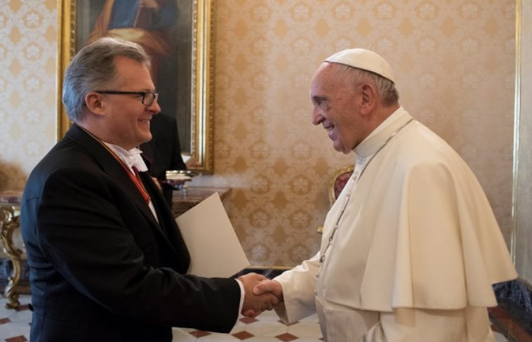 Petras Zapolskas ambassadeur de Lituanie © L'Osservatore Romano