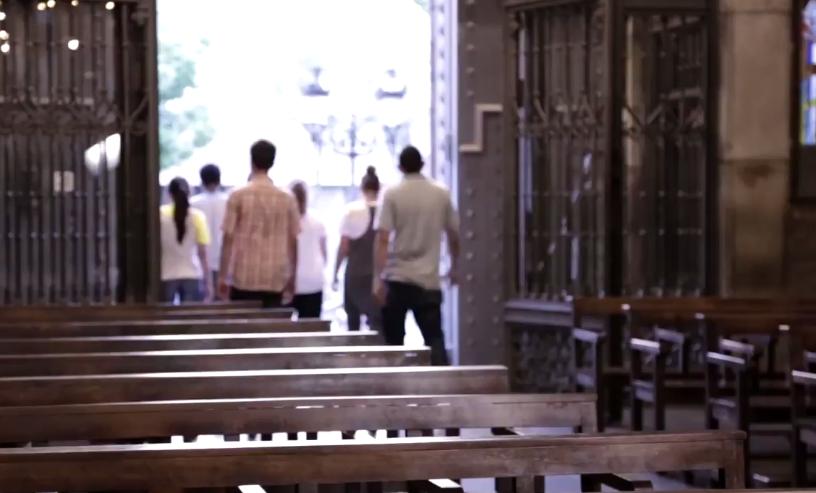 Paroisse © capture vidéo Réseau mondial de prière du pape