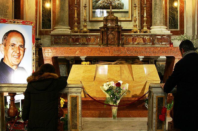 Tombe de Don Pino Pusigli © Wikimedia Commons / © José Luiz Bernardes Ribeiro