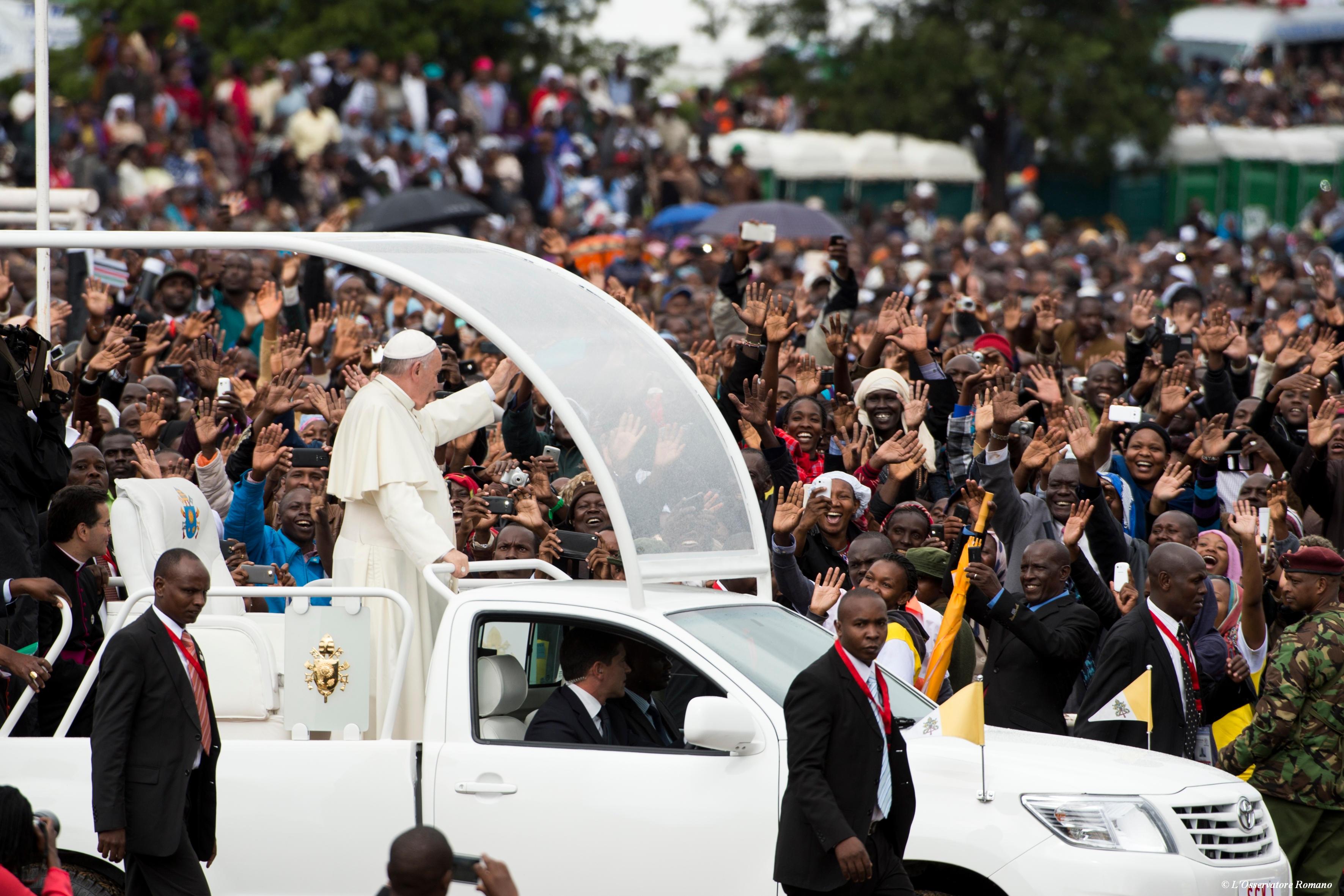 Le pape au Kenya © L'Osservatore Romano