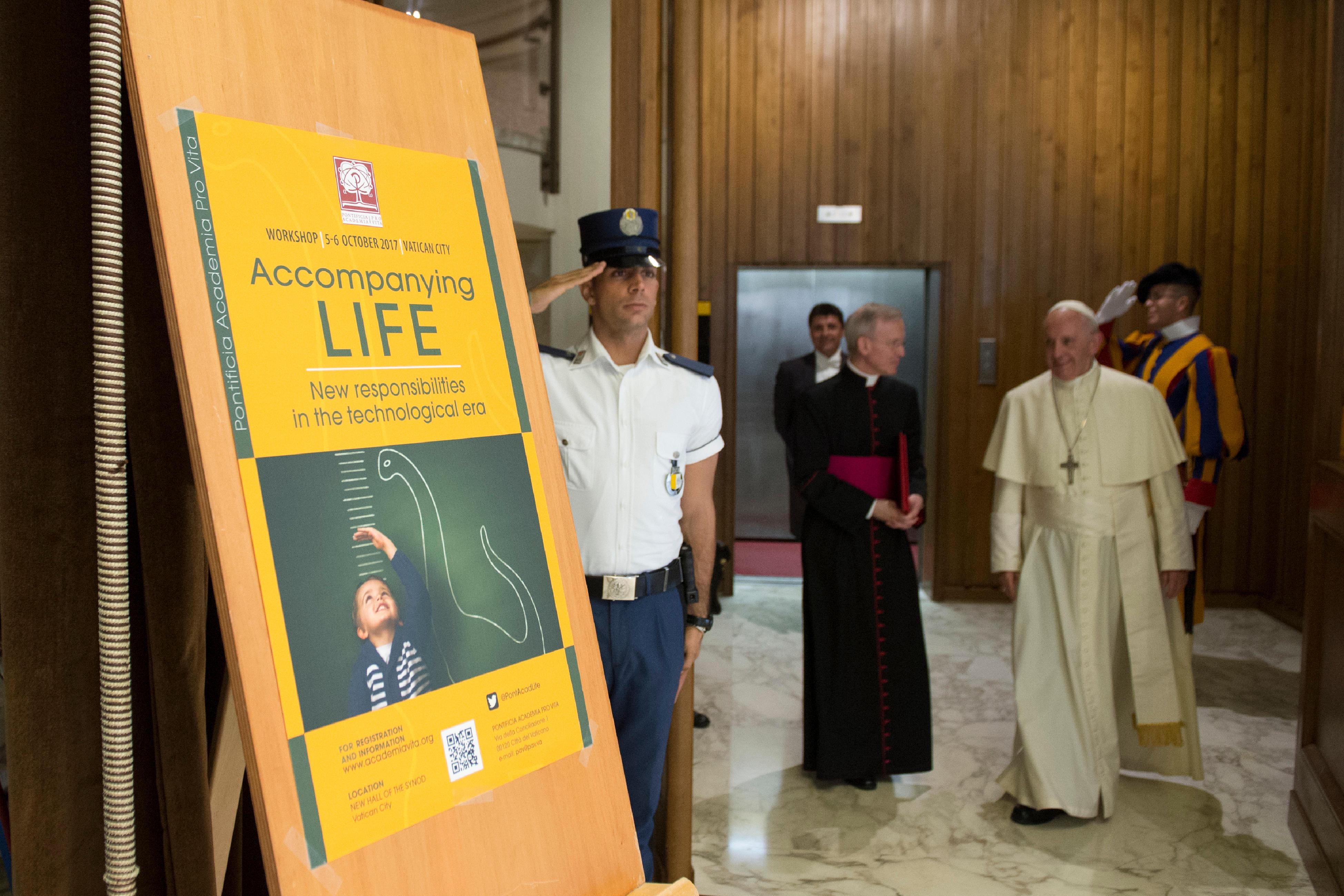 Académie pontificale pour la vie 5 oct. 2017 © L'Osservatore Romano
