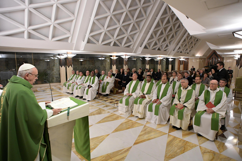 Messe du 20/10/2017 à Sainte-Marthe © L'Osservatore Romano