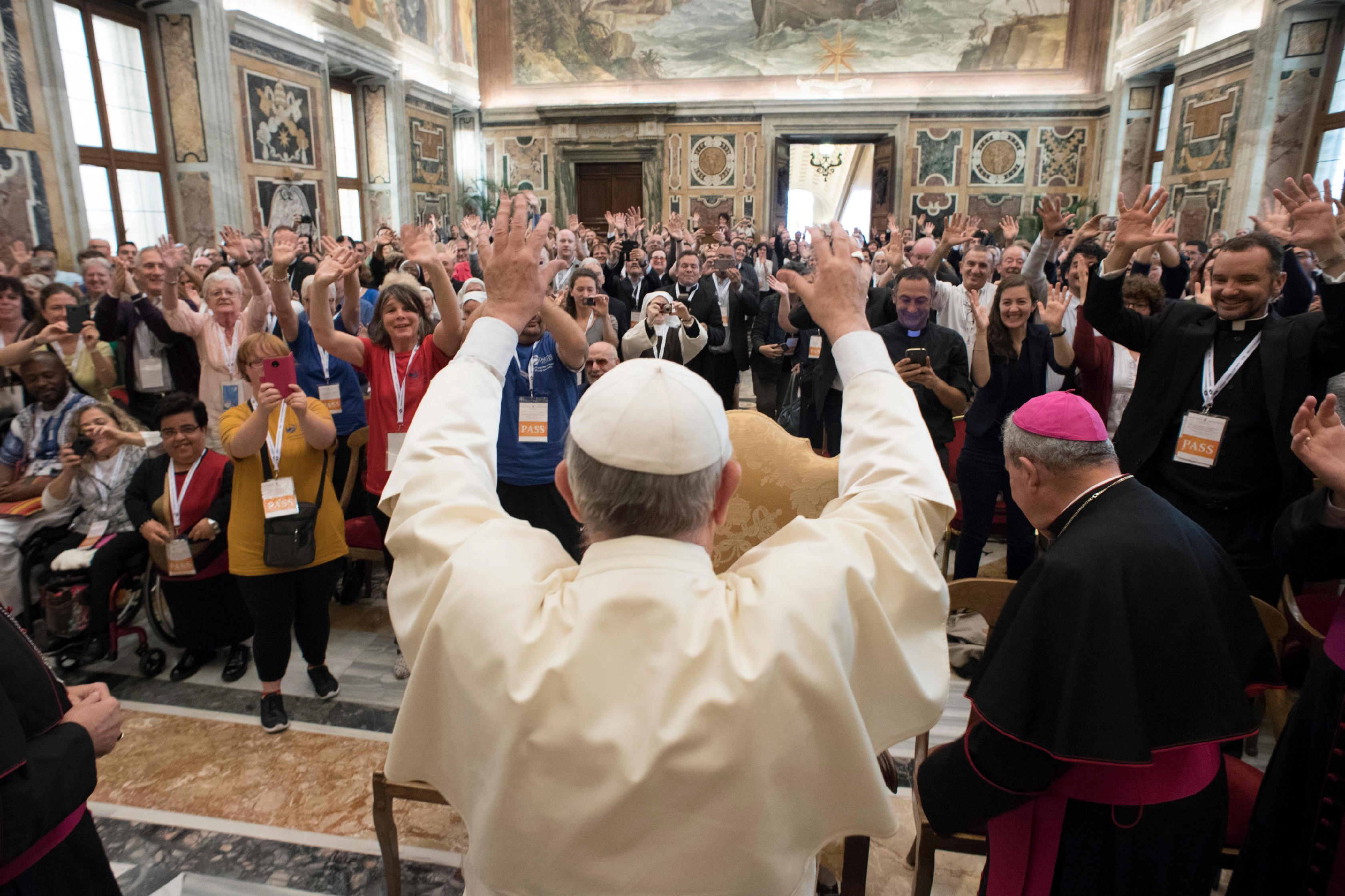 Congrès catéchèse et handicap © L'Osservatore Romano