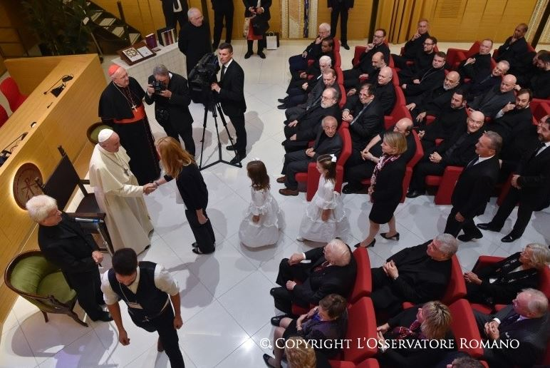 Visite à l'Institut pontifical oriental © L'Osservatore Romano