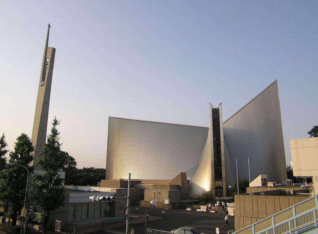 Cathédrale de Tokyo, Japon © Wikimedia Commons / Morio