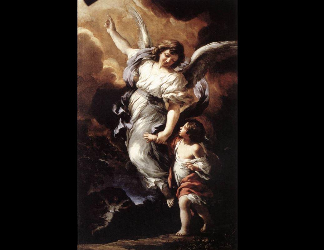 Ange gardien Pietro da Cortona © Wikimedia Commons / domaine public