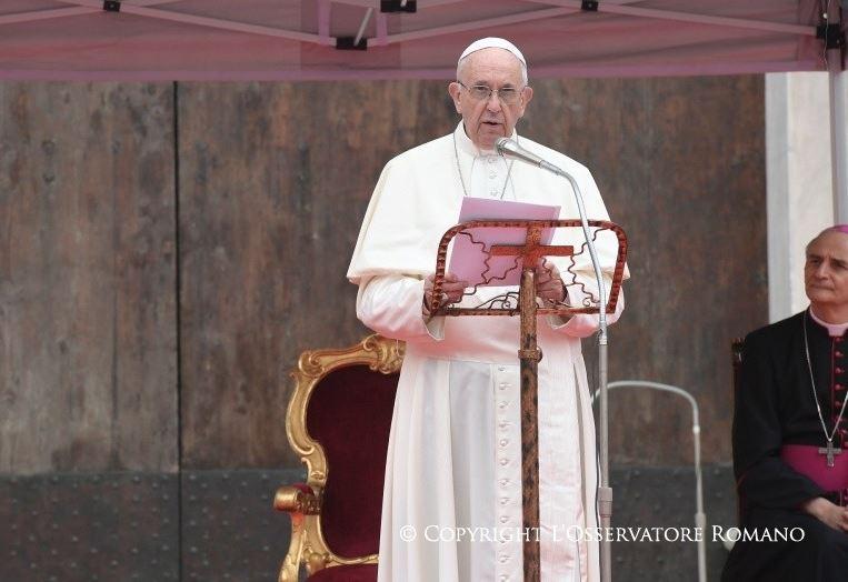 Angélus à Bologne © L'Osservatore Romano