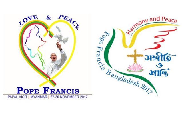 Logos du voyage Myanmar/Bangladesh