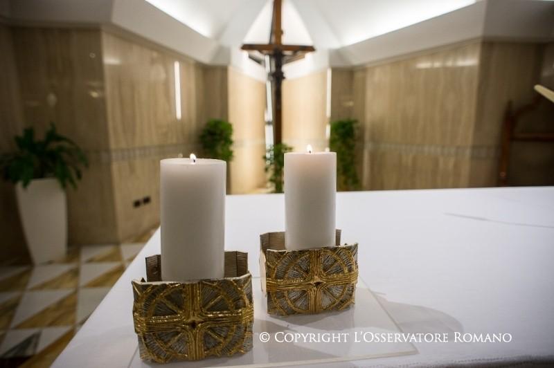 Messe à Sainte-Marthe © L'Osservatore Romano
