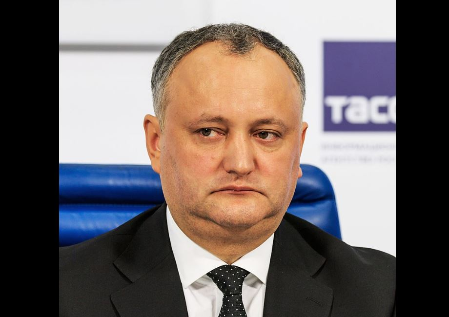 Igor Dodon, Moldavie © Wikimedia commons / A. Savin