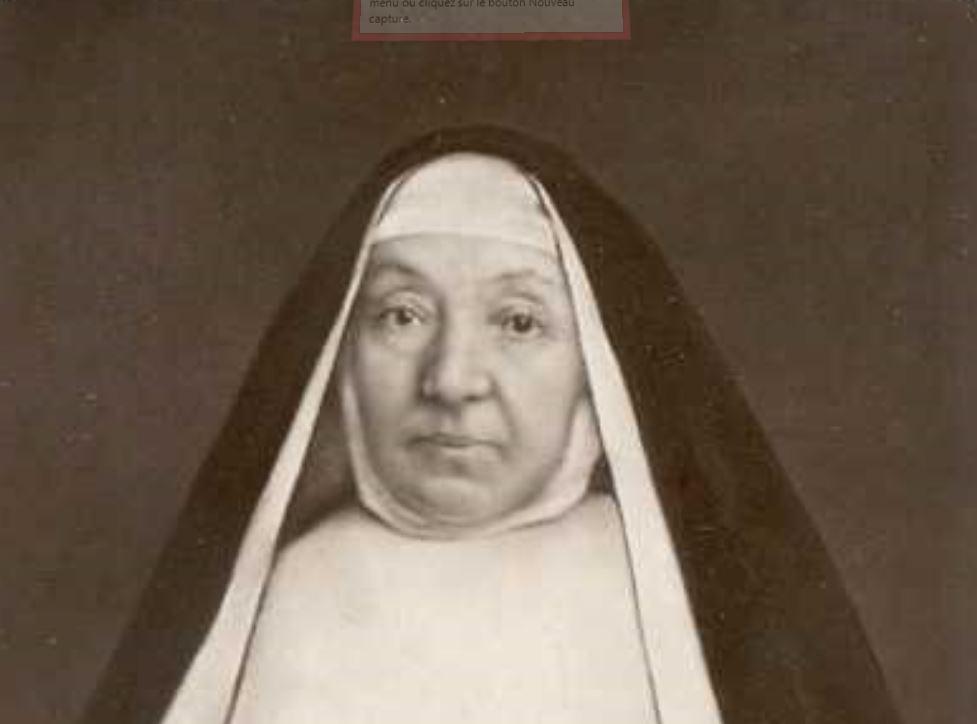 Mère Françoise du Saint Esprit © blogs.fefmont.es