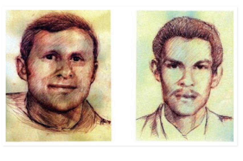 Le p. Marcello Maruzzo et Luis Obdulio Arroyo Navarro martyrs au Guatemala © calendariofrancescanosecolare.blogspot.fr