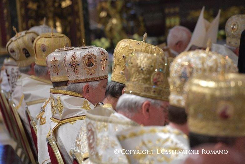 Messe à Ste Marie-Majeure pour les 100 ans de l'Institut pontifical oriental © L'Osservatore Romano