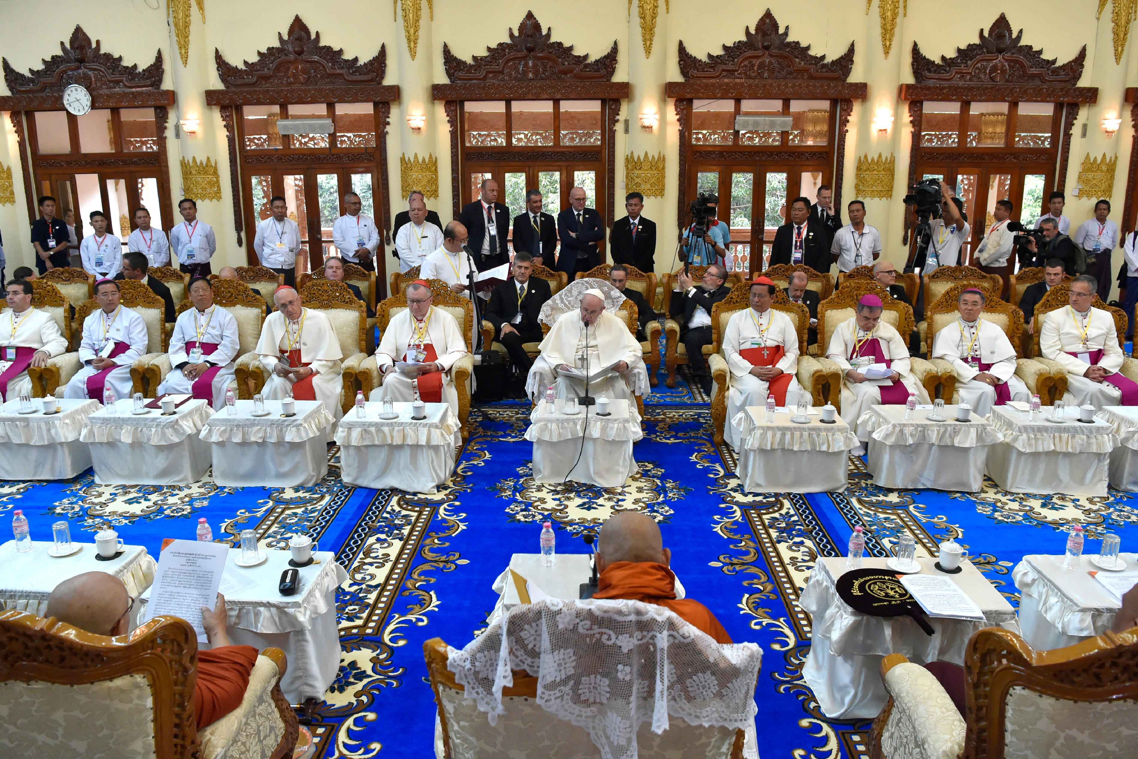 Conseil Sangha, bouddhisme, Myanmar © L'Osservatore Romano
