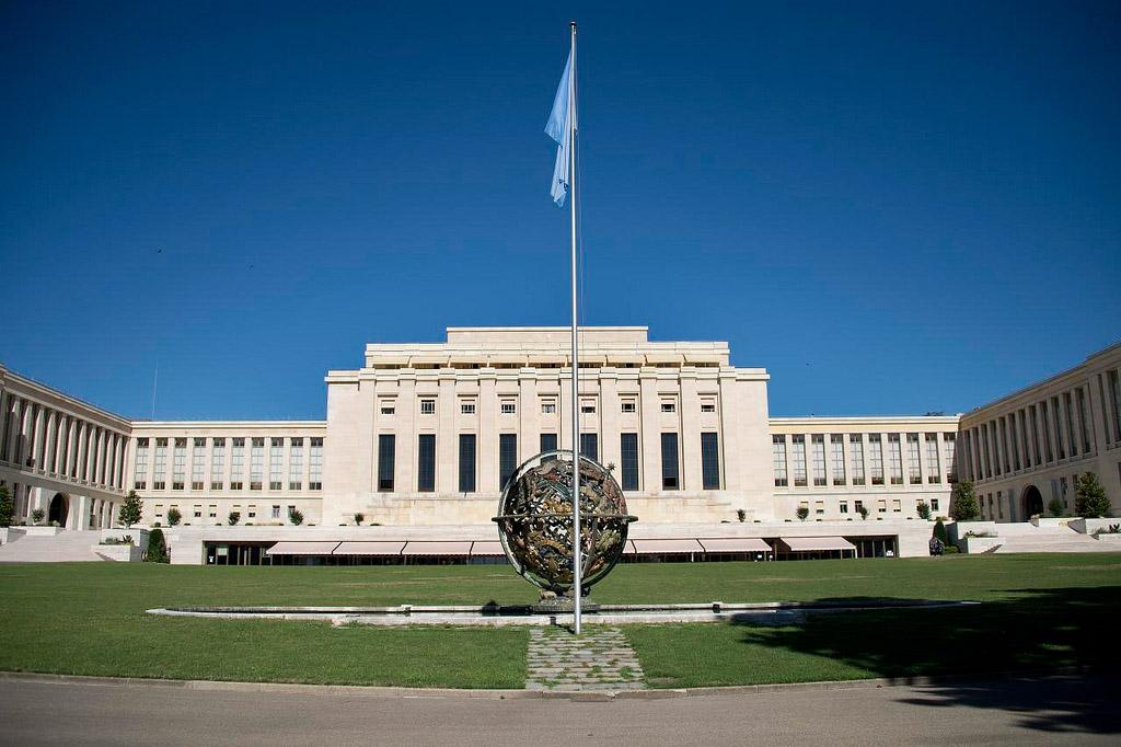 Le siège des Nations Unies à Genève @ ONU/Jean-Marc Ferré