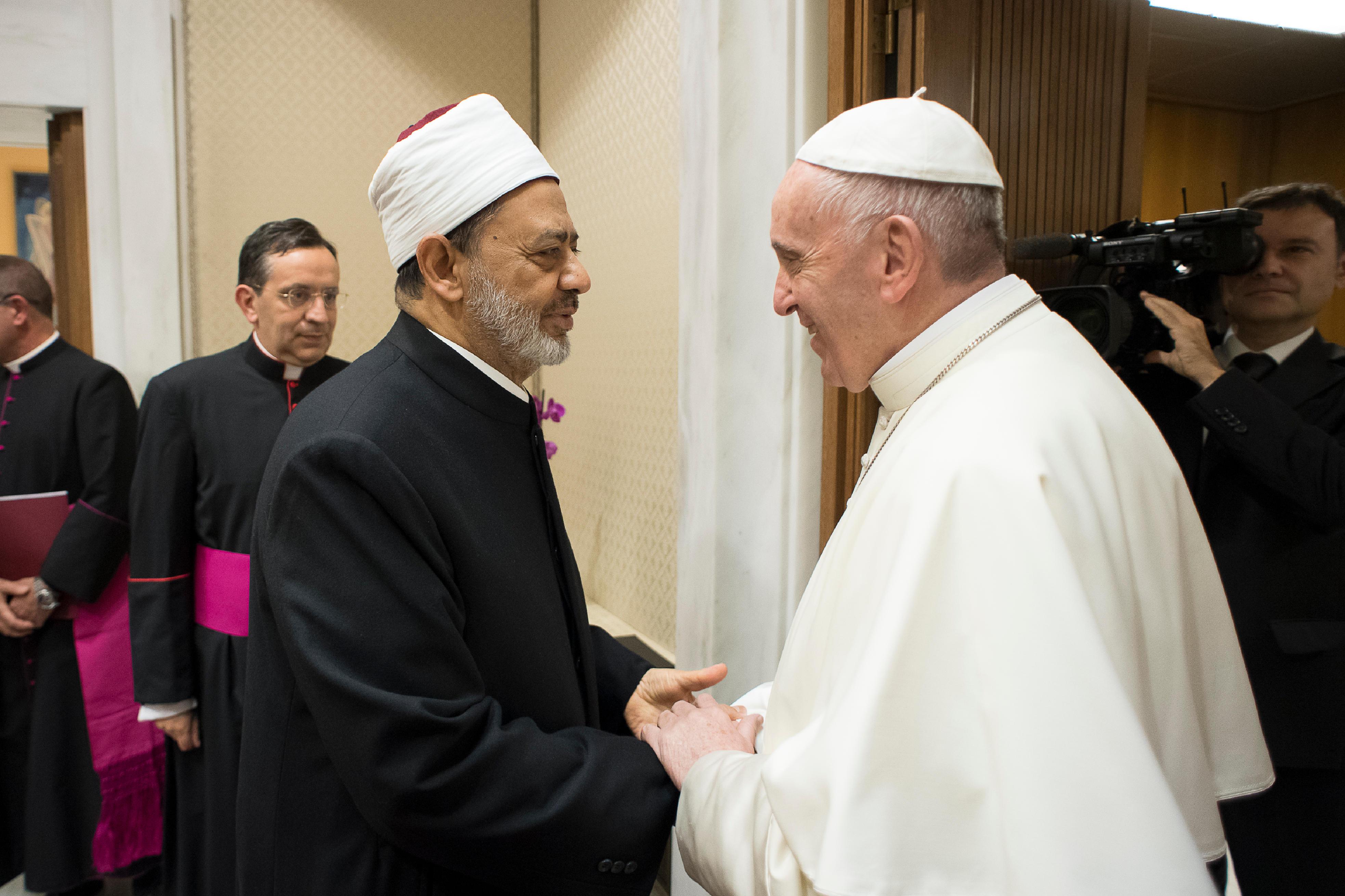 Le grand imam Al-Tayeb 07/11/2017 © L'Osservatore Romano