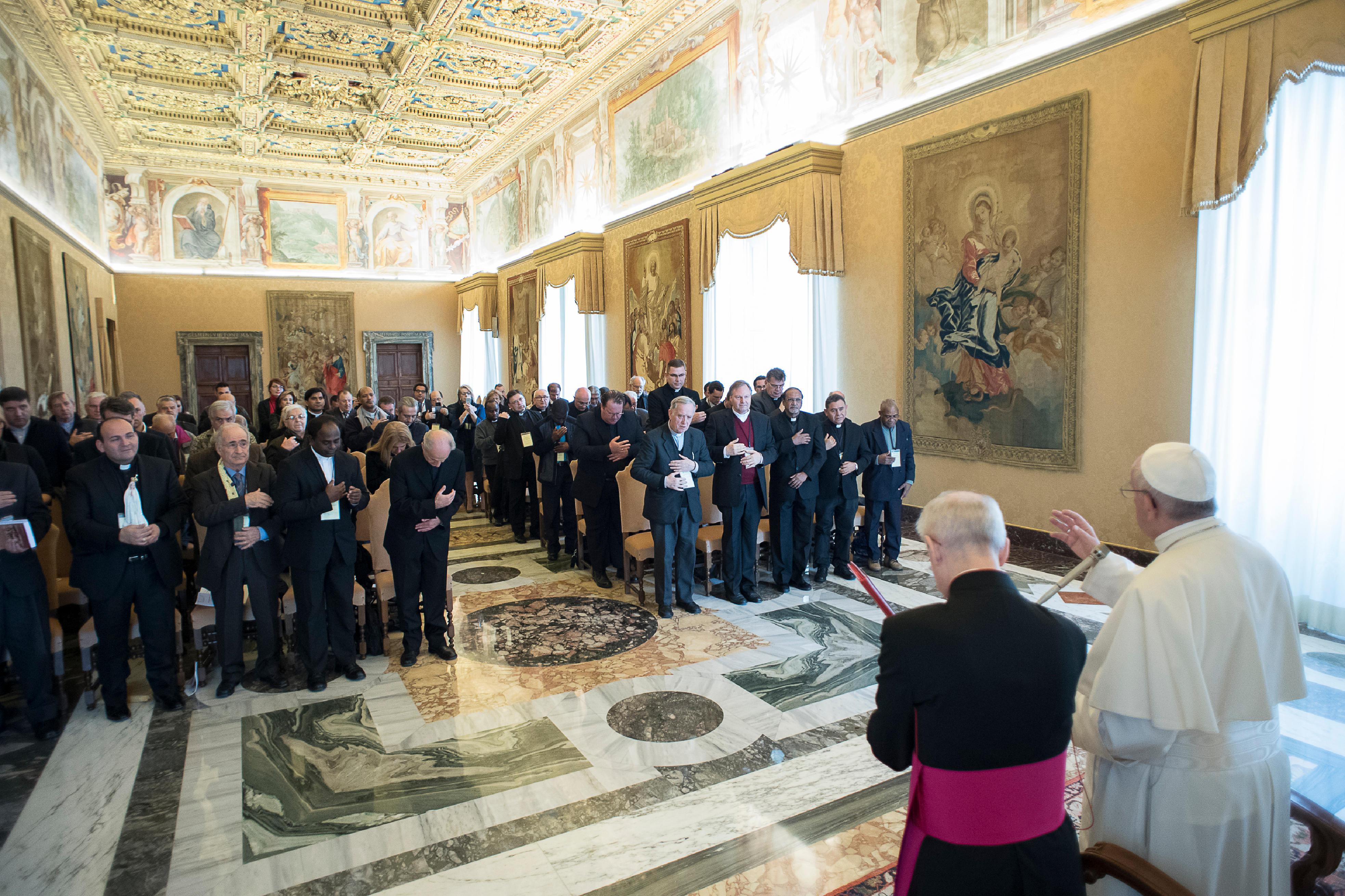 Assemblée internationale de la Confédération Union Apostolique du Clergé © L'Osservatore Romano