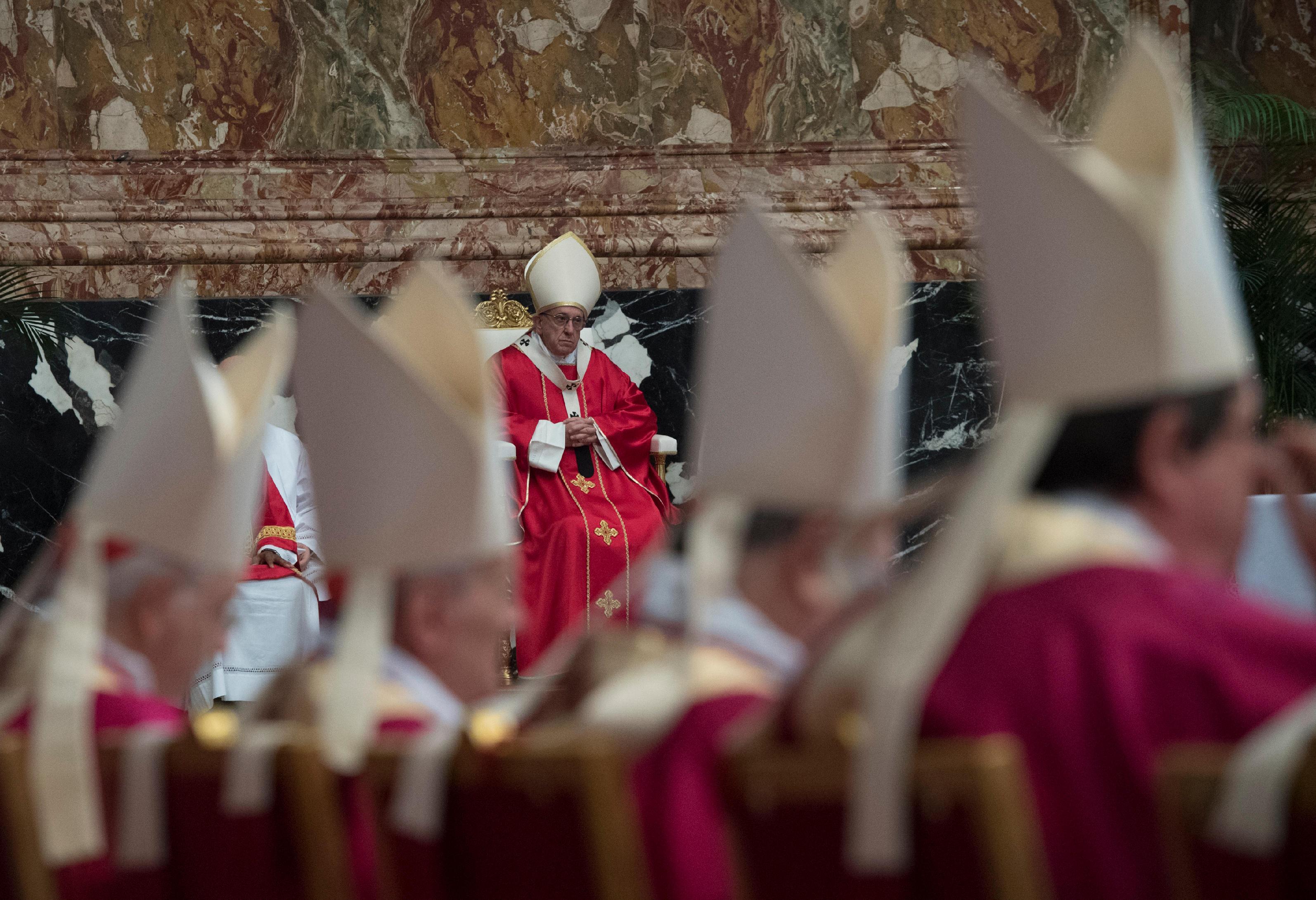 Messe pour les cardinaux et évêques défunts dans l'année © L'Osservatore Romano
