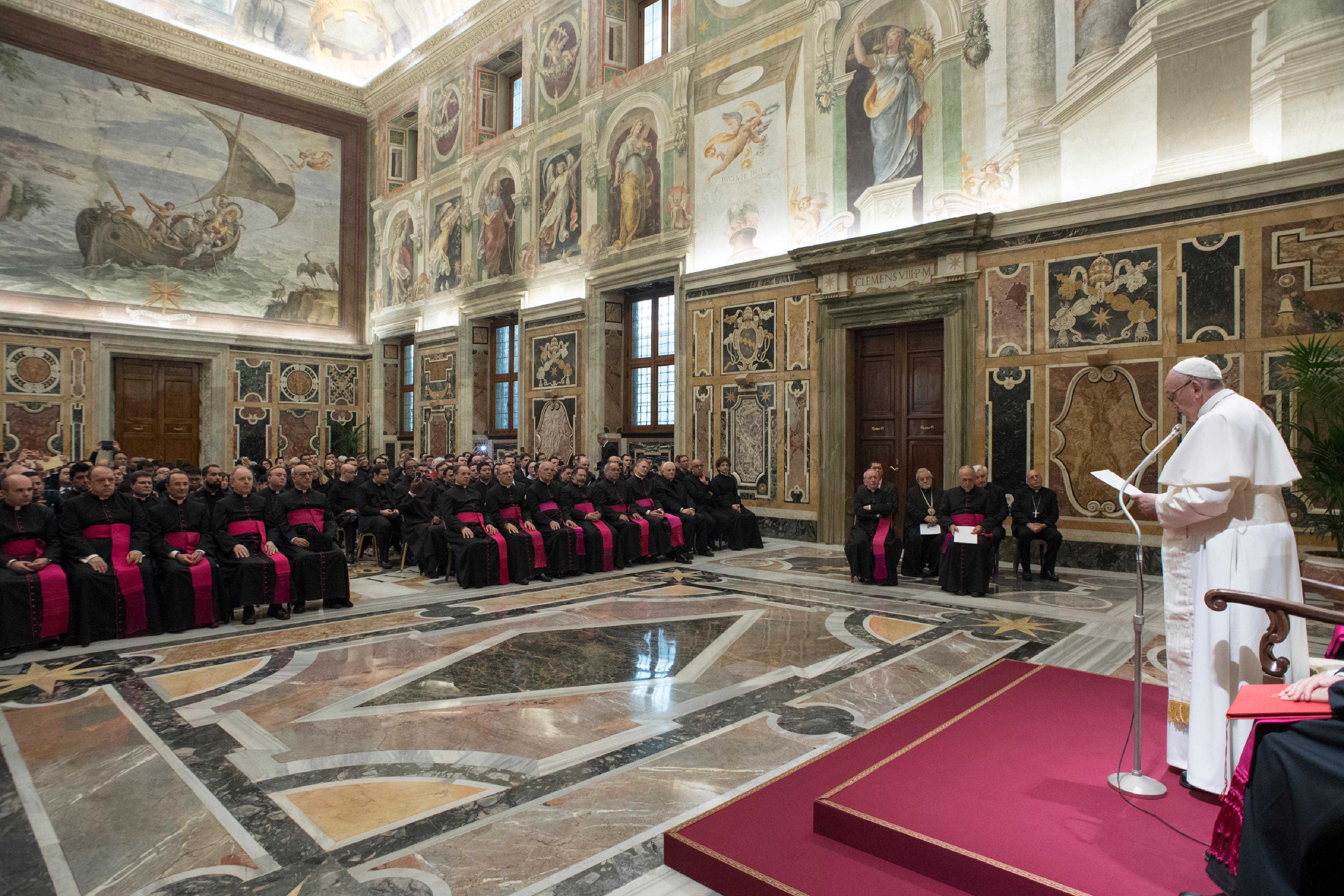 Séminaire de la Rote romaine 25/11/2017 © L'Osservatore Romano