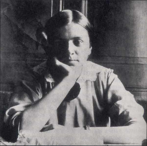 Adrienne von Speyr à Langenbruck, V. 1918 @ wikimediacommons, ignatius.com