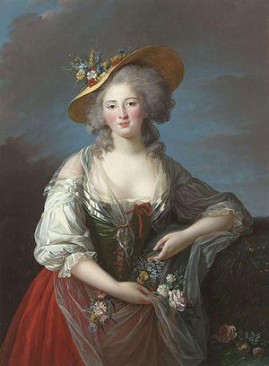 Elisabeth de France par Élisabeth Vigée Le Brun @ wikimedia