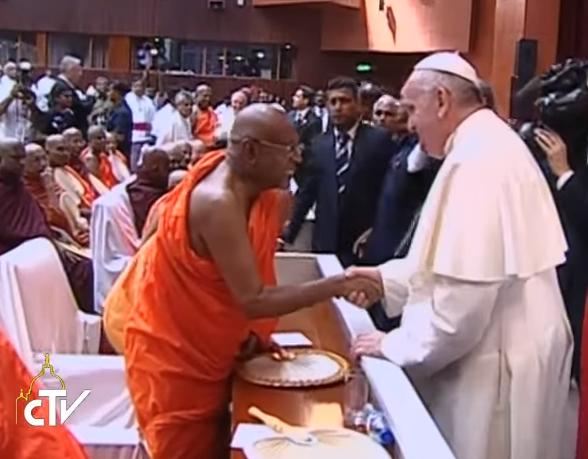 Bouddhiste, Sri Lanka, capture CTV