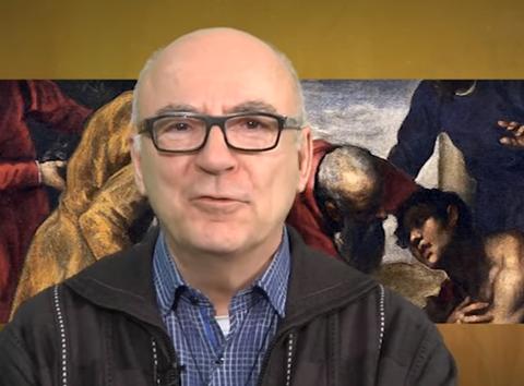 Le p. René Guay, capture vidéo Webtélé ECDQ