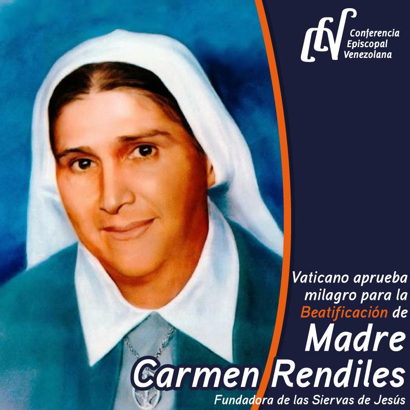 Madre Carmen Rendiles @ cev.org.ve