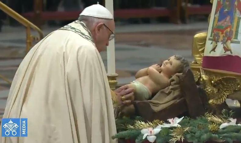 Vêpres de Ste Marie Mère de Dieu © Vatican Media