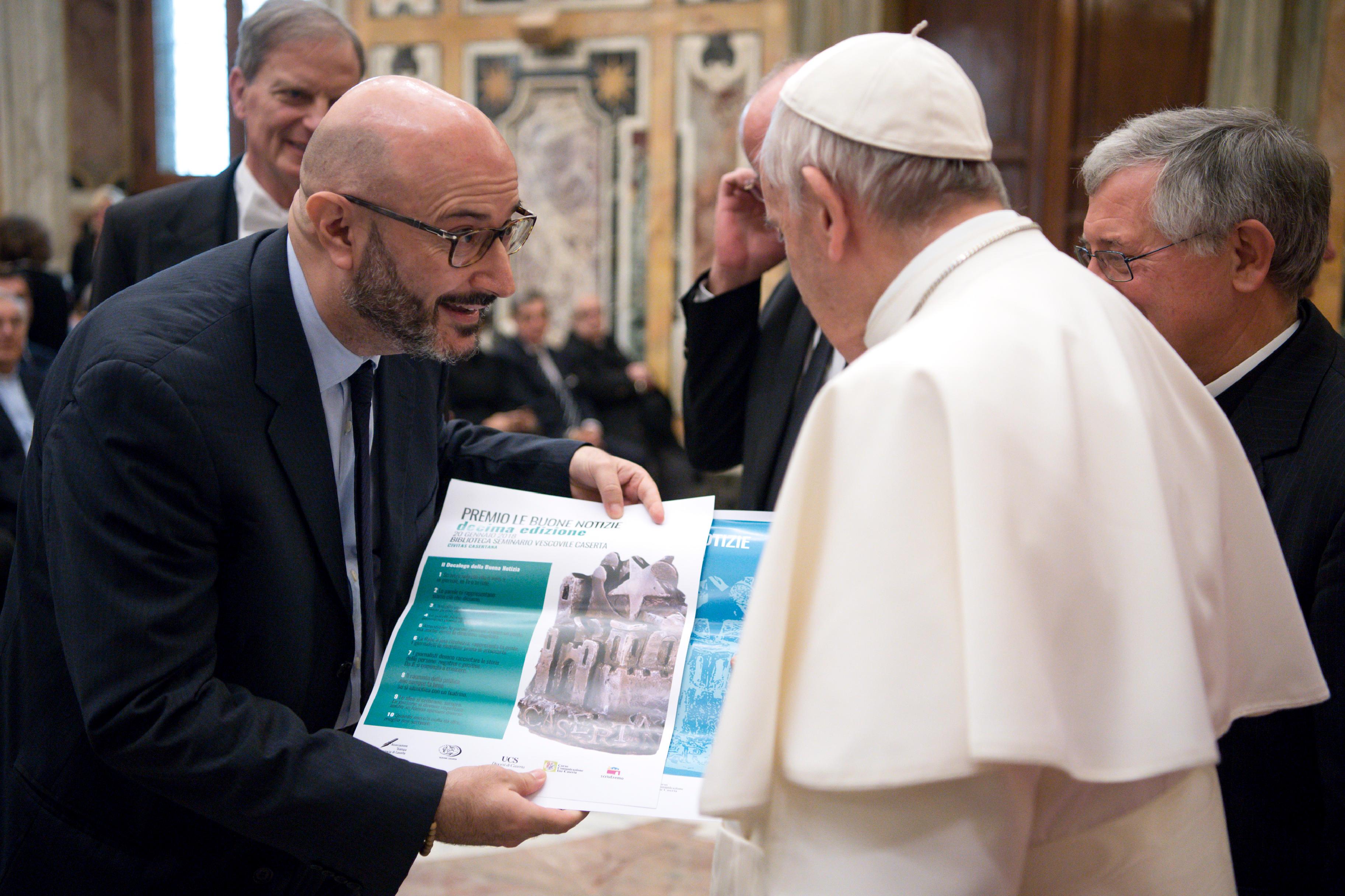 Journalistes, médias, Union de la presse périodique italienne © L'Osservatore Romano