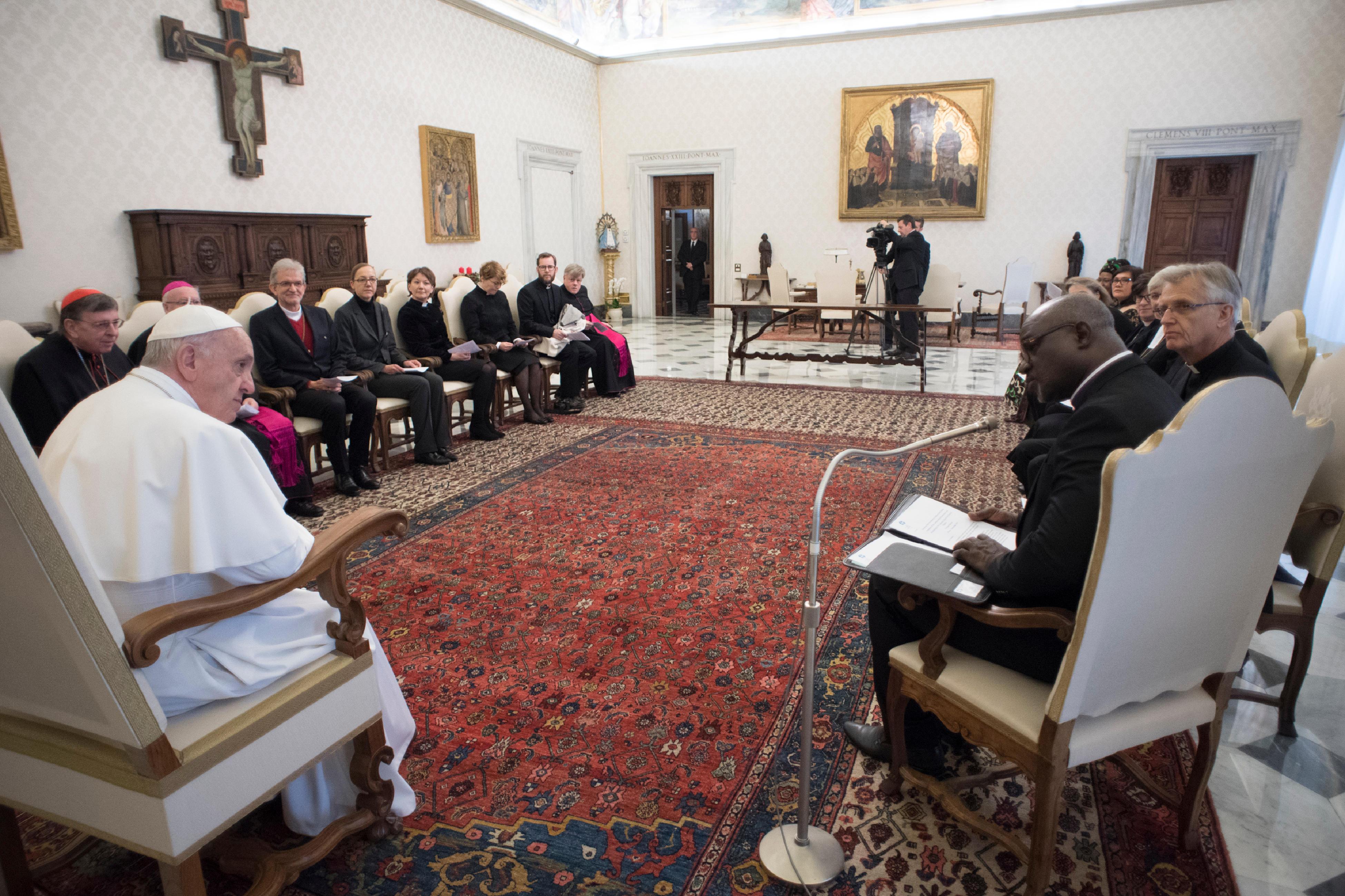 Présidence de la Fédération luthérienne mondiale © L'Osservatore Romano