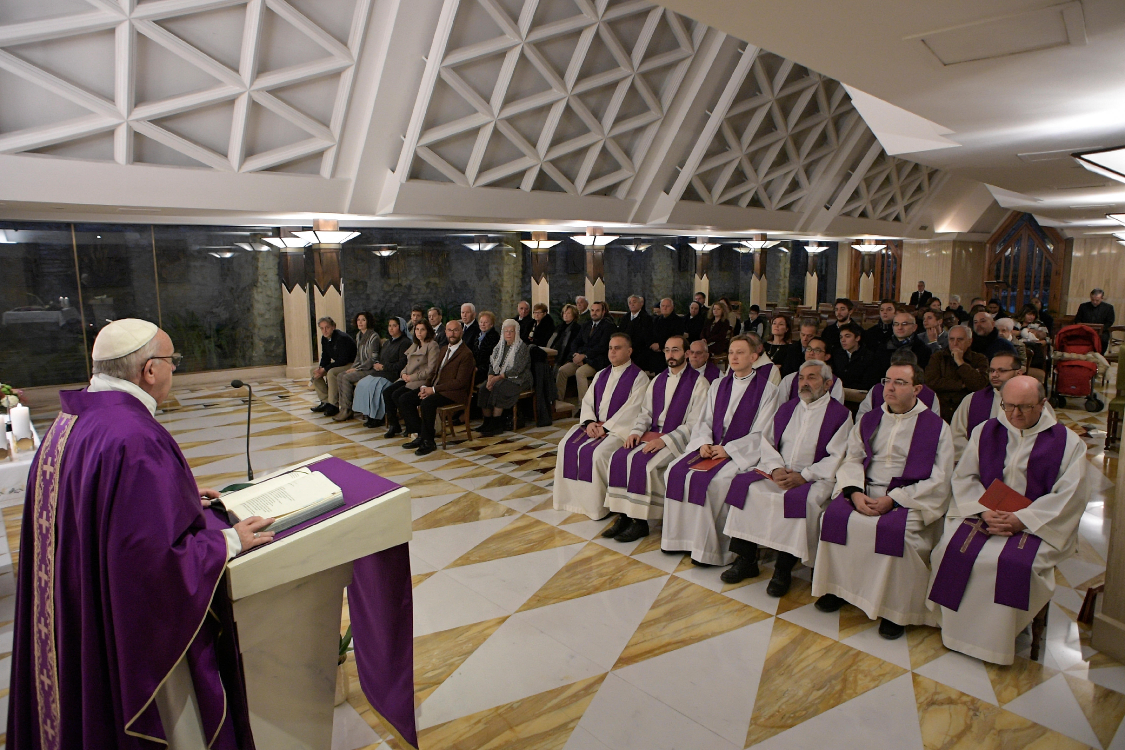 Sainte-Marthe, messe du 05/12/2017 © L'Osservatore Romano