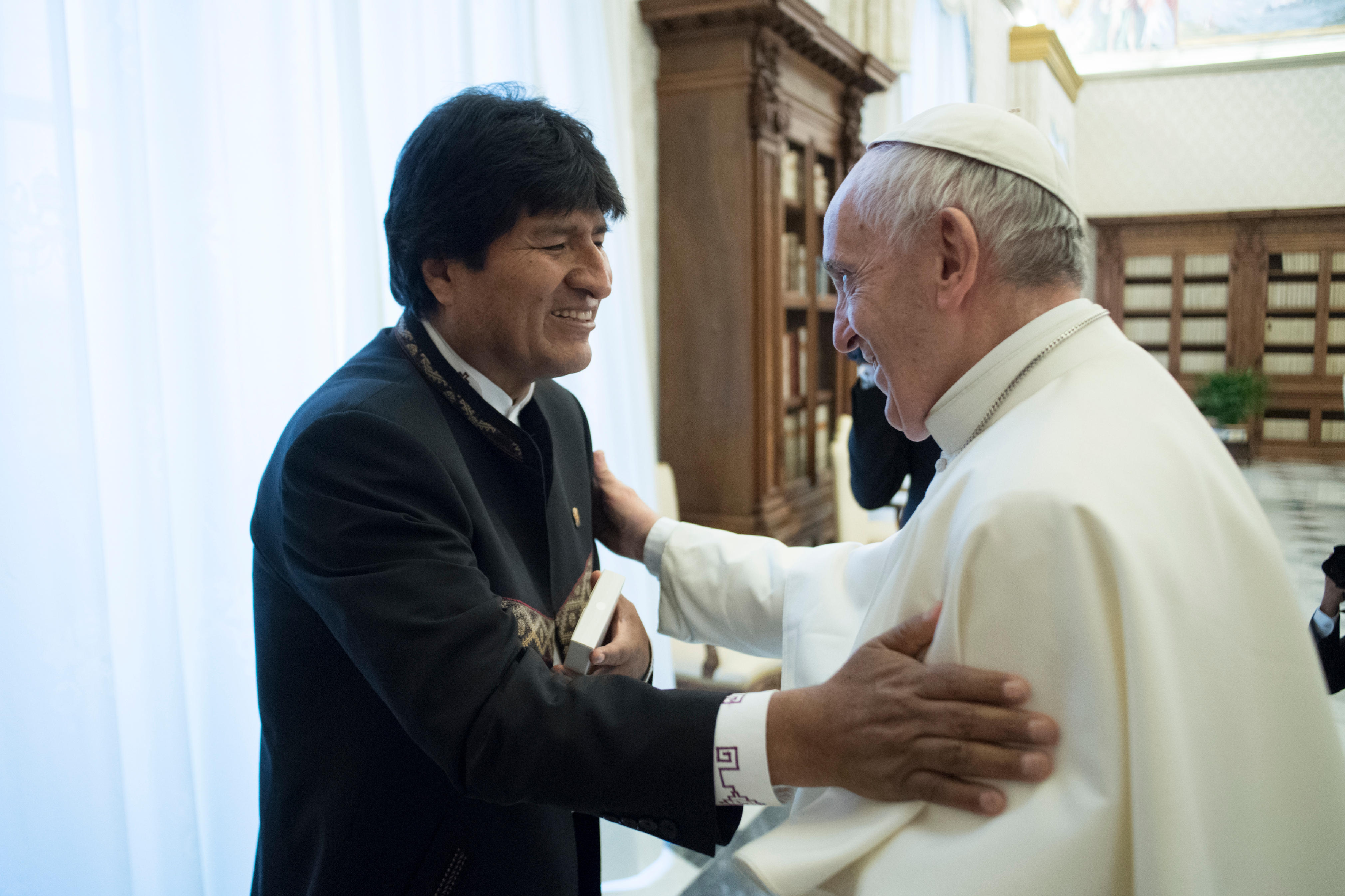 Président Evo Morales, Bolivie © L'Osservatore Romano