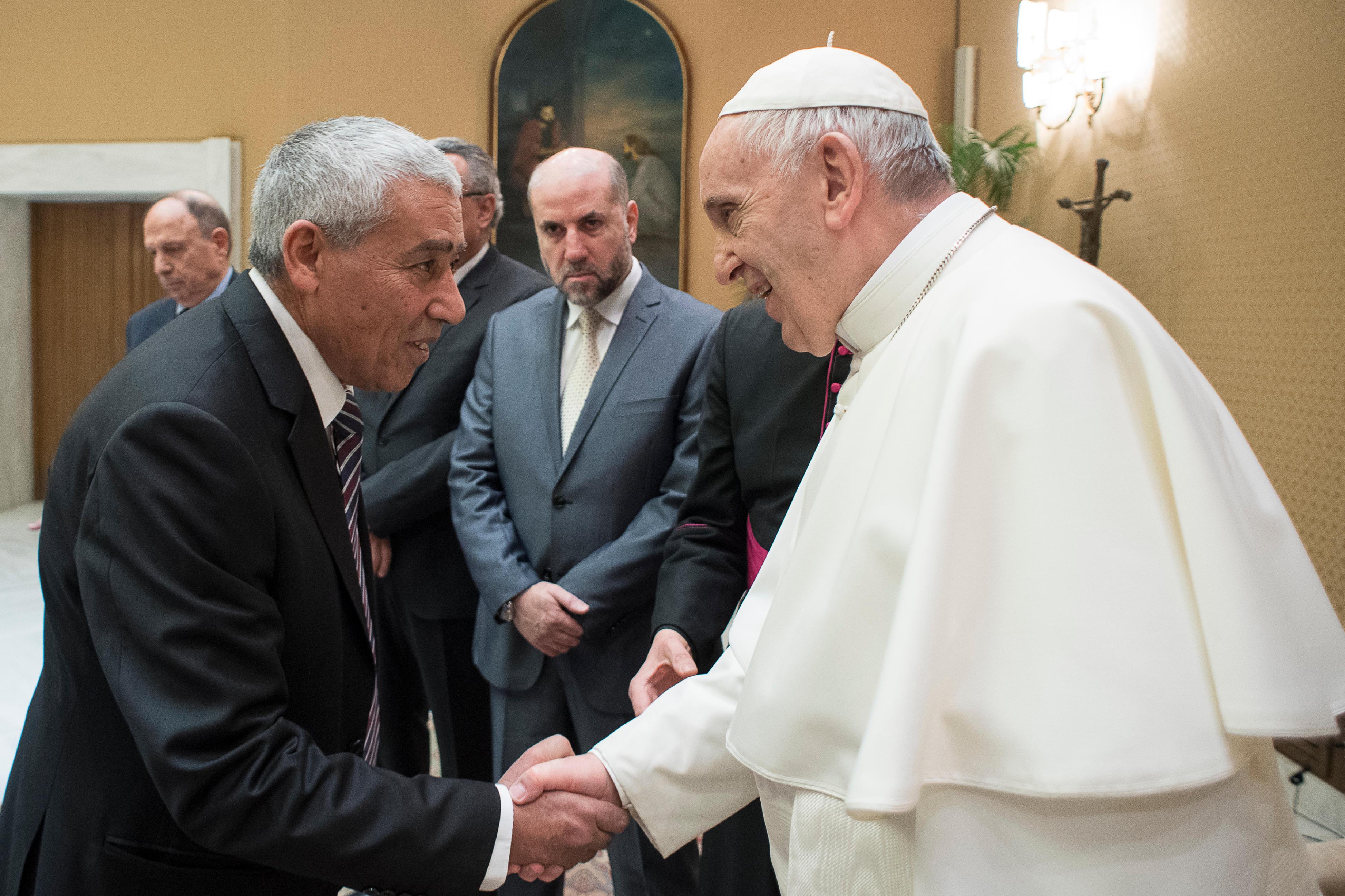 Comité permanent pour le dialogue avec des personnalités religieuses de Palestine © L'Osservatore Romano