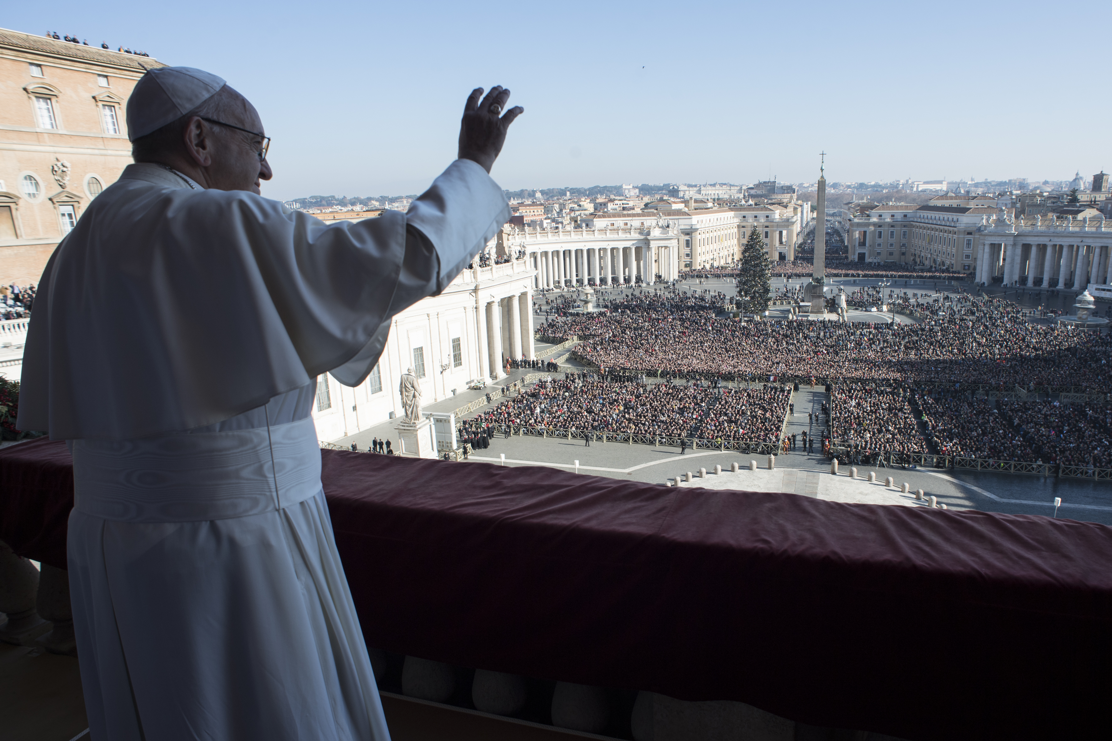 Voeux de Noël 2017 © Vatican Media