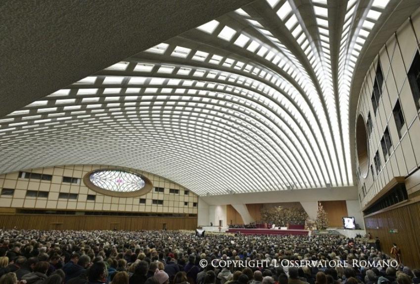 Audience générale du 6/12/2017 © L'Osservatore Romano