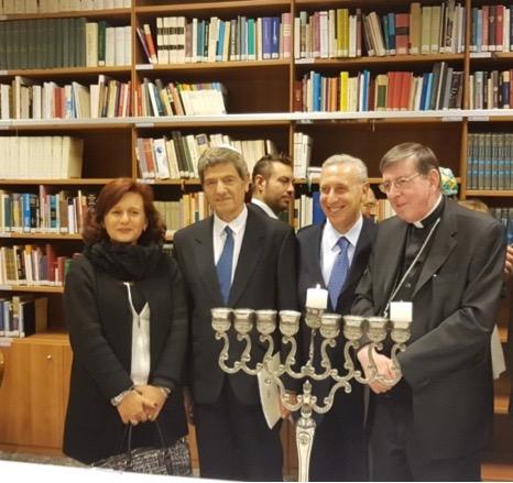 Dialogue avec le judaïsme autour de la lumière de Hanoucca @ Ambassade d'Israël près le Saint-Siège