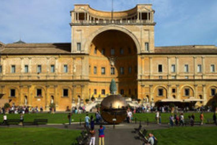 Cour de la Pigne, Vatican © assau.org