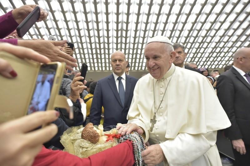 Audience générale 27/12/2017 © Vatican Media