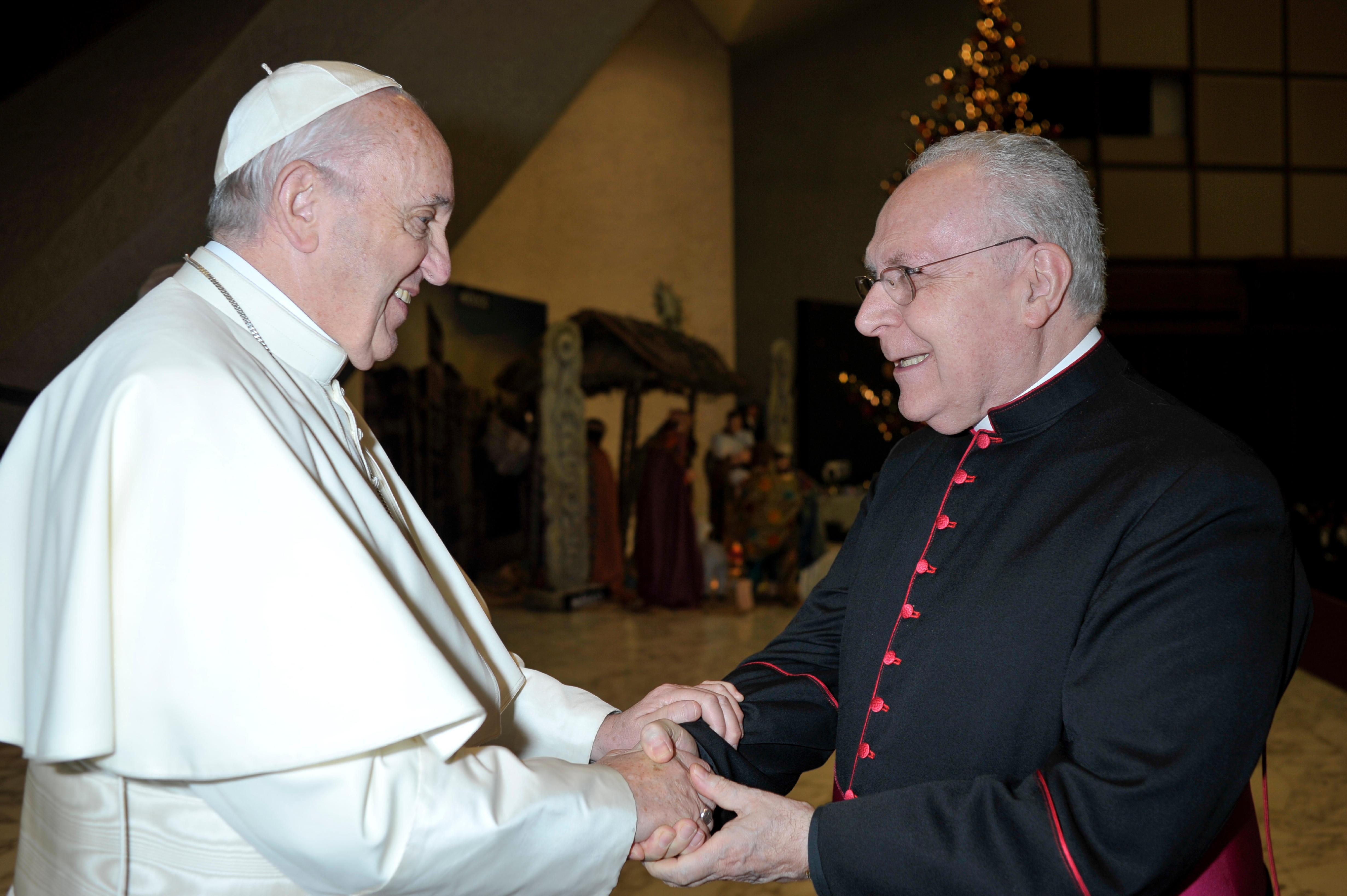 Mgr Francesco Follo 13/12/2017 @Oss_romano