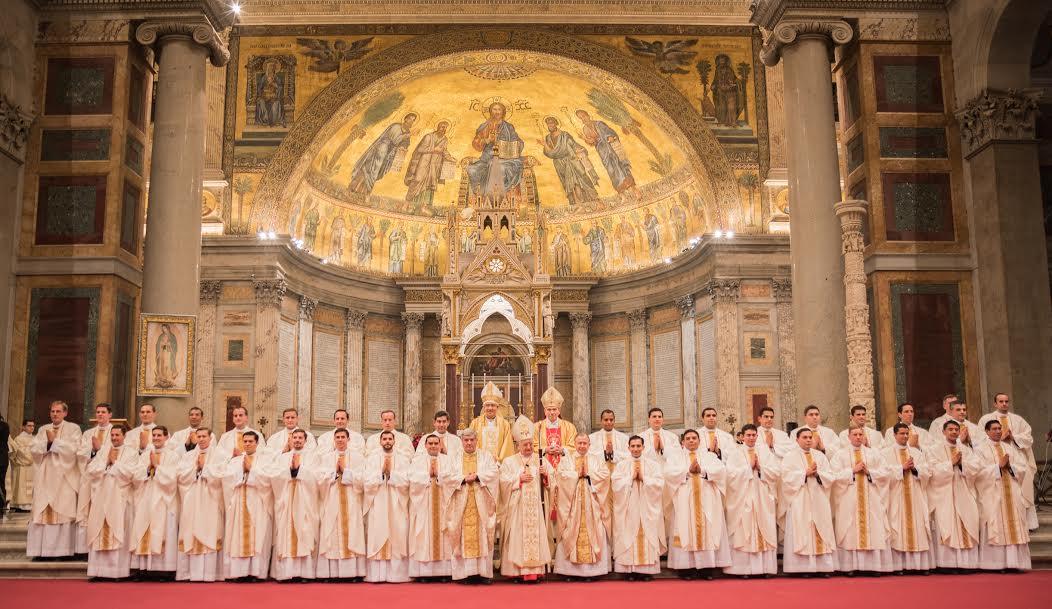Légionnaires du Christ, ordinations sacerdotales 2017 @LC