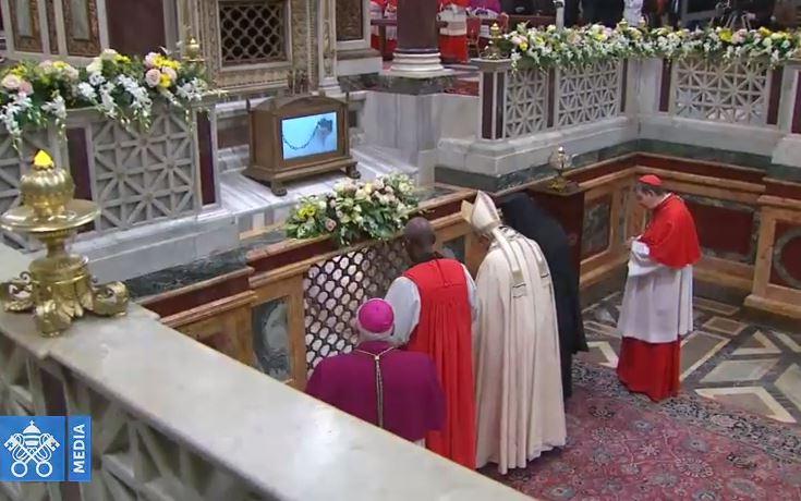Vêpres à St-Paul-hors-les-Murs, unité des chrétiens © Vatican Media