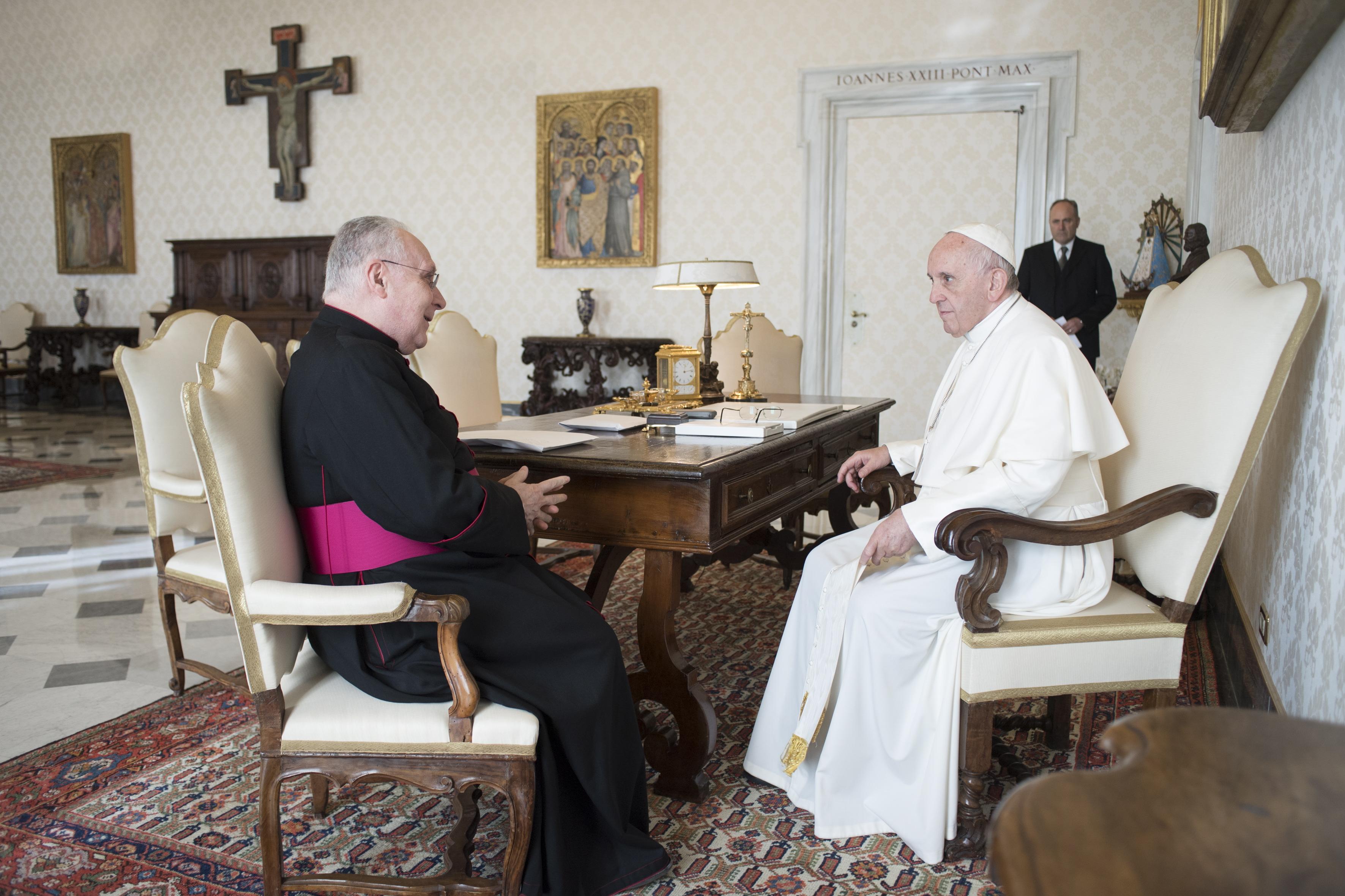Mgr Francesco Follo, 4 déc. 2017 @Vatican Media