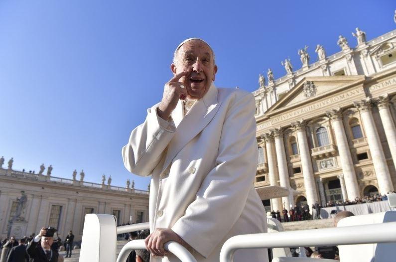 Audience générale du 24/01/2018 © Vatican Media