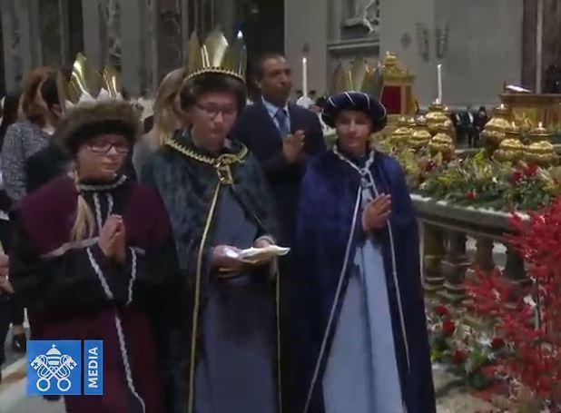 Rois Mages © Vatican Media