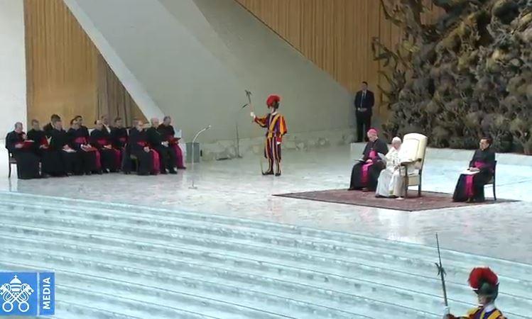 Audience générale du 3/01/2018 © Vatican Media